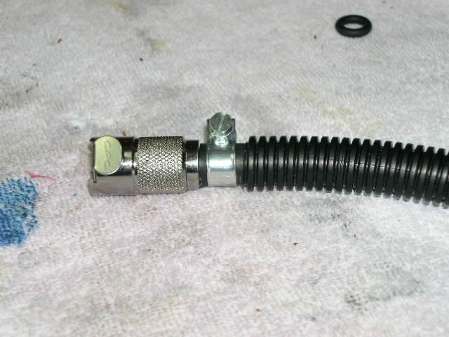 FLmetal coupler 2002 etv1000 fuel line upgrade